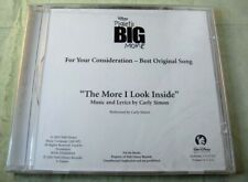 """Carly Simon """"The More I Look Inside from Piglet'S Big Movie"""" Cd Fyc Sealed! 2003"""