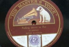 78rpm PETER DAWSON rolling down to rio / drake goes west B 1475