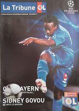 Programm UEFA CL 2007/08 Olympique Lyon - Bayern München