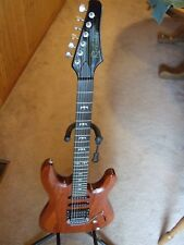 Richman Custom 6 String Electric Guitar Active Electronics Made In USA