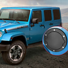 Gas Door Cover Cap Oil Fuel Filler Tank Accessories Fit 07-18 Jeep Wrangler Jk