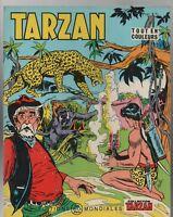 Collection TARZAN n°24 .Editions  Mondiales 1967 -Tout en couleurs