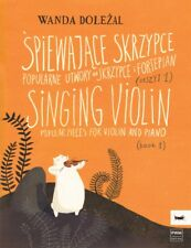 Singing Violin Book 1 Popular Pieces for Violin and Piano Pwm Book New 000253937