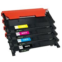 Compatible Toner Cartridge for Samsung CLT-K407S CLT-C407S CLT-M407S CLT-Y407S