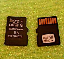 Latest update 2017 2018 Toyota 2015 16 17 18 Navigation Micro SD  86271 35015