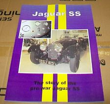 JAGUAR SS  ROAD TEST + MOTOR TRADER SERVICING  REPRINT BOOK.UNIQUE MOTOR BOOKS