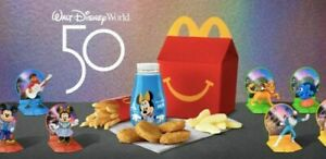 Disney's 50th Anniversary Disney World WDW HAPPY MEAL Toy McDonald's MCD NEW