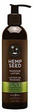 Hemp Seed Massage Lotion. Naked in the Woods. 8 Fl. Oz. / 237. Made in the USA.