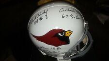 Dan Dierdorf Signed HOF Autographed Full Size Replica Helmet PSA/DNA COA
