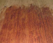 "African Bubinga wood veneer 5"" x 11"" with no backing raw 1/42"" thick A grade"