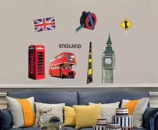 Removable Vinyl Wall Decal England Style Sticker Home Room DIY Decor usa