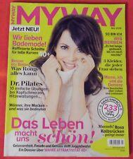 Myway 2014 Nr 05 , Das Leben macht uns schön , Iris Berben ,