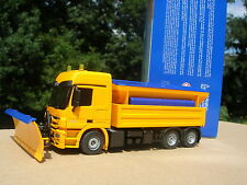 1/50 CAMION MERCEDES-BENZ ACTROS 2648 6X6 CHASSE-NEIGE SABLEUR !!!