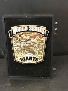 VINTAGE 2014 MLB SAN FRANCISCO GIANTS WORLD SERIES BASEBALL PRESS PIN