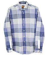 HUGO BOSS Men Shirt DZ32 CliffE Orange Label Casual Size M