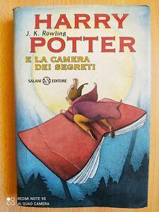 Harry Potter E La Camera Dei Segreti SECONDA RISTAMPA tela rossa pecoranera 1999