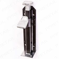 HEAVY DUTY FOOT OPERATED BOLT Gate/Garage/Stable Door Ground/Floor Metal Lock