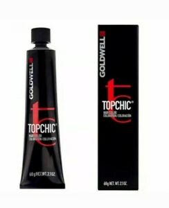 GOLDWELL TOPCHIC TUBES 60ML - Permanent Hair Colour RV Effect Red Violet