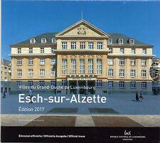 SERIE EURO BRILLANT UNIVERSEL (BU) - LUXEMBOURG 2017