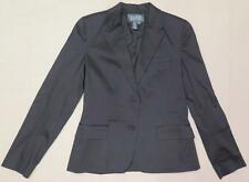 ~ RALPH LAUREN ~ LRL ~ Black Single-Breasted Blazer Size 6 FREE SHIPPING (USA)