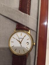 Authentic Tourneau Mens 18k (750) Solid Gold Wrist watch