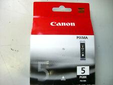 CANON PGI-5BK, Nr. 5, PIXMA IP5200 MP500, Tintenpatrone schwarz, Neu Original