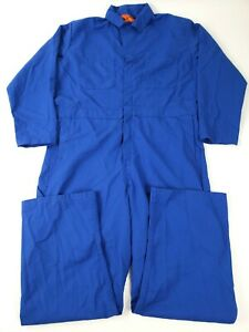 Red Kap Men's Long Sleeve Twill Action Back Coverall, Electric Blue, 44