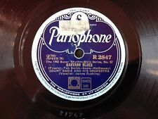 78obrotów Count Basie - Harvard Blues / Coming Out Party Parlophone R2847 szelak