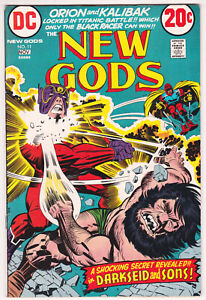 New Gods #11 Very Fine 8.0 Darkseid Orion Jack Kirby Story And Art 1972