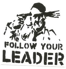 50 Follow your leader Aufkleber stickers Punk GNWP Anti Nazi Gegen Nazis Raus