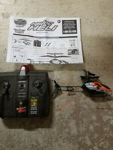 Air Hogs RC Havoc Heli Helicopter replacement remote/heli and instructions