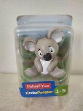Fisher Price Little People Zoo Animals Koala New Free Shipping