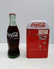 Coca-Cola Vending Machine Tin Bank - BRAND NEW