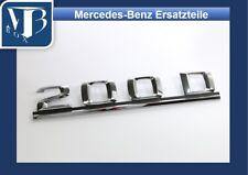 M520 Original Mercedes W124 Limousine 200D Schriftzug Typenzeichen an Heckdeckel