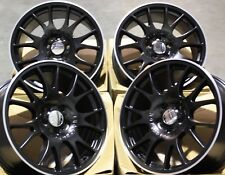 "ALLOY WHEELS 19"" BLACK CH FOR 5x110 VAUXHALL ASTRA CORSA MERIVA ZAFIRA"