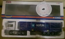 Corgi CC13806 Mercedes Benz Actros Curtainside Norfolk Line Ltd Ed. 0001 of 2510