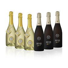 6 Bottiglie di Spumanti Extradry e Prosecco DOCG Brut Val D'Oca