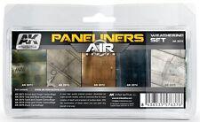 Ak Interactive AKI 2070 Air Series Panel Liner Weathering Set
