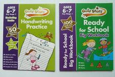"""Handwriting & ready for school"" workbook set age 6-7 years KS1 year 1-2 New"