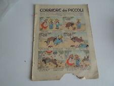 CORRIERE DEI PICCOLI DEL 29/05/1910 N.22- MOMO- CICCIO E CHECCA.