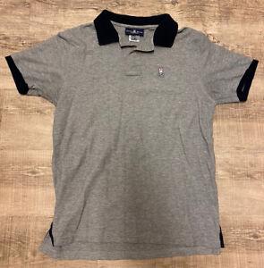 Men's Grey Psycho Bunny Polo Shirt Size 5