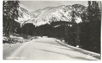 RPPC Postcard Loveland Pass Colorado CO  #2
