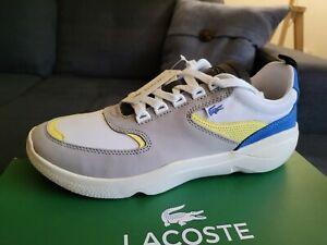 Lacoste Men's Wildcard 319 4 11US SMA Sneakers, Gray/blue