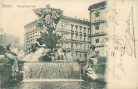 Ansichtskarte Stettin 1904 Manzelbrunnen  (Nr.821)