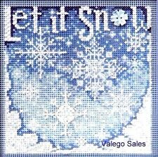 "Mill Hill Buttons Beads Cross Stitch Kit 5"" x 5"" ~ SNOWFALL #14-0303 Sale"