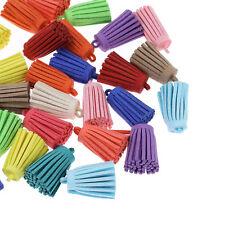 20 Mixte Pendentifs breloque Pompons Glands Création DIY Décoration 3.4x1.6cm