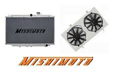 MISHIMOTO Performance Aluminum Radiator & Fan Shroud for Nissan Skyline R32