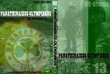DVD Panathinaikos-OLYMPIAKOS 2012 (Derby, Misfits, Gate 13, Ultras, Hellas, Greece)