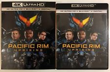 PACIFIC RIM: UPRISING 4K ULTRA HD BLU RAY 2 DISC SET + SLIPCOVER SLEEVE NEW RELE