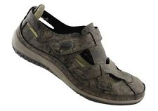 CC Resorts Jackie Casual Walking Shoe Charcoal Patterned - 40